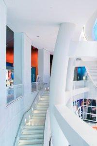 Basketball Hall of Fame Stairs