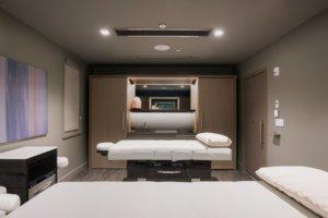 First Finish Miraval, Spa massage room